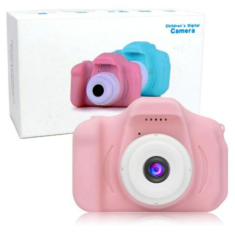 Câmera Digital Para Crianças LP005 Infantil Display 2 Pol HD Recarregável Prova de Choque - Foto 2