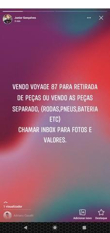 Vendo Voyage 87