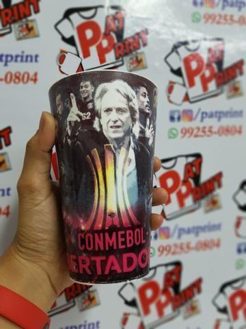 Copos ecológico do Flamengo - Foto 2