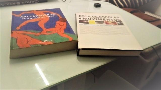 2 Livros de Arte (Estudo)