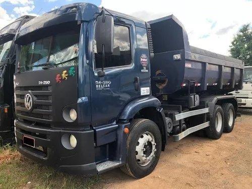 Caminhão 24250 Caçamba Com Condições Especiais de Pagamento