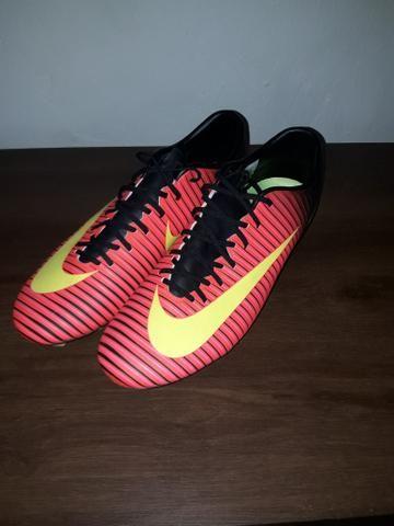 Chuteira Nike Mercurial VI Campo - Esportes e ginástica - Nuc Hab N ... 54a764c4e18c5