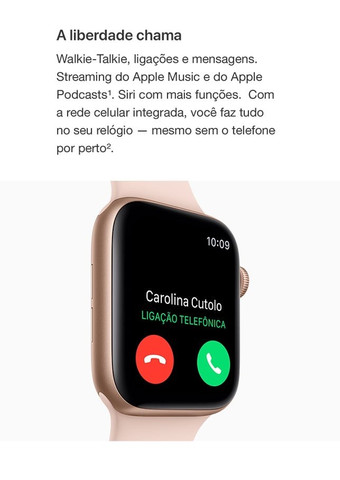 Apple Watch Series 4 (gps + Cellular) - 44mm - Foto 5