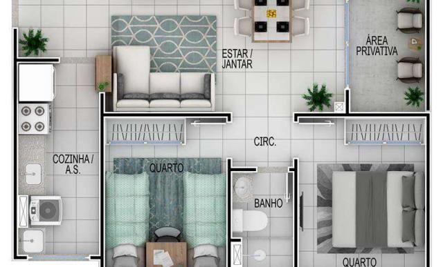 Residencial Greenport - Apartamento em Goiânia, GO - ID4024 - Foto 9