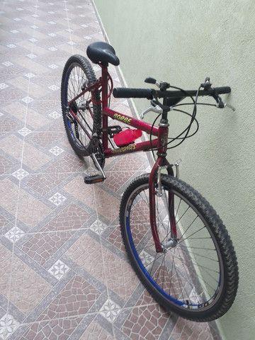 Bicicleta usada mas em ótimo estado e pegar e andar  - Foto 4