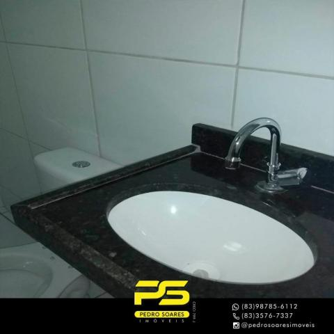 Apartamento com 2 dormitórios à venda, 60 m² por R$ 110.000 - Paratibe - João Pessoa/PB - Foto 13
