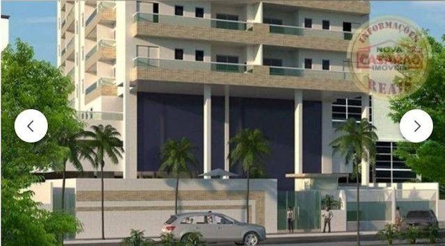 Apartamento com 2 dormitórios à venda, 70 m² por R$ 350.000 - Mirim - Praia Grande/SP - Foto 2