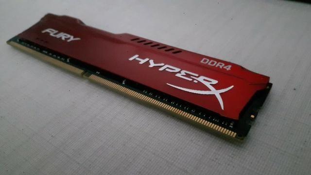Memória Hyperx Fury 16gb 3200mhz Ddr4 Vermelho - HX432C18FR/16