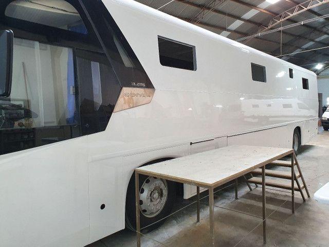Onibus com montagem para motorhome personalizado - Foto 3