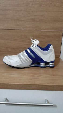 Nike Shock azul e branco  - Foto 2