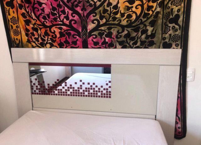 Cabeceira de casal cama box - Foto 4