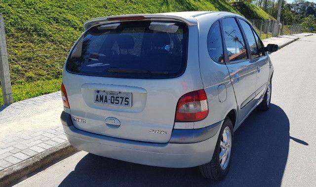Renault Scénic 2.0 16V Privilége Plus. GNV e Gasolina. Cambio Aut. Top de linha - Foto 4