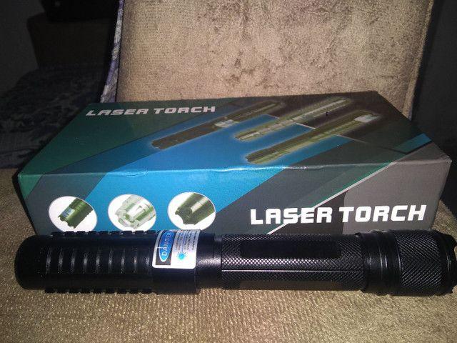 Laser azul 450 Nm super potente - Foto 2