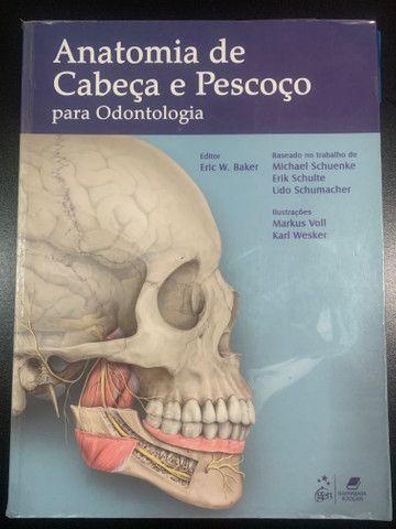 Livro Anatomia de Cabeça e Pescoço para Odontologia