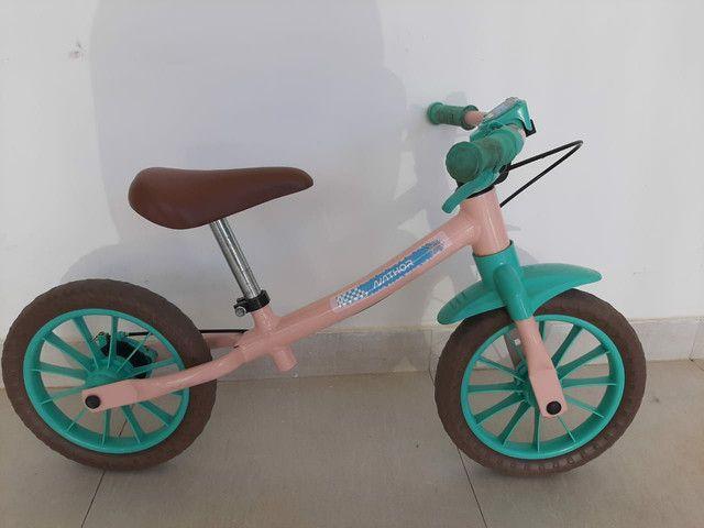 Bicicleta de equilíbrio Nathor (sem pedal)