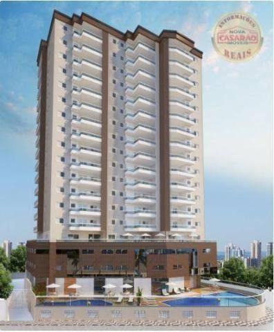 Apartamento com 2 dormitórios à venda, 77 m² por R$ 419.958 - Maracanã - Praia Grande - Foto 5