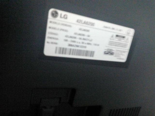 Tv LG smart 42 Leia o anuncio whats * - Foto 5