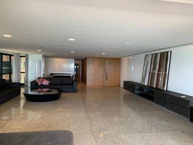 Apartamento para venda possui 349m² com 4 suítes na Orla da Ponta Verde - Maceió - AL - Foto 6