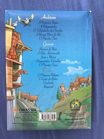 Livro Turma da Monica contos de fada - Foto 2