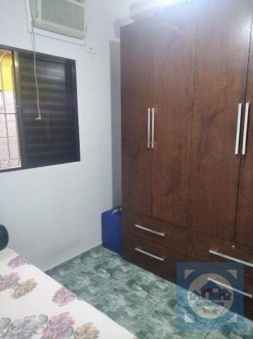 Casa com 3 dormitórios à venda, 100 m² por R$ 381.000,00 - Santa Maria - Santos/SP - Foto 3