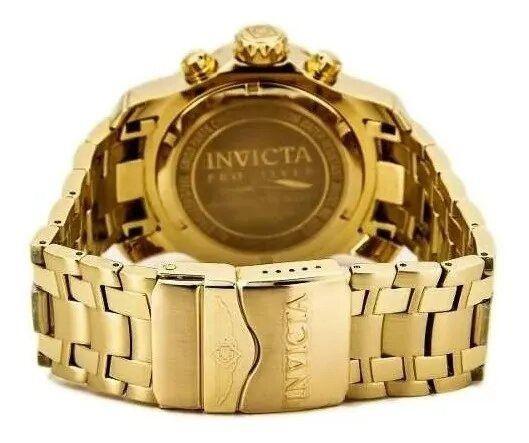 Relógio Masculino Invicta 0072 Dourado Scuba Movimento Suíço - Foto 2