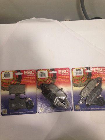 Pastilhas de freio para bandit 650/1250/gs650/vstron - Foto 3