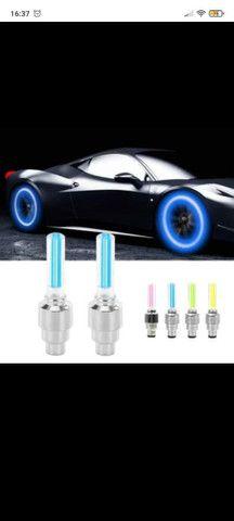 LED luminoso para bicicleta carro e moto - Foto 3