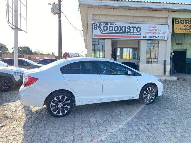 Honda Civic LXR 2016 Apenas 55 mil km  - Foto 8