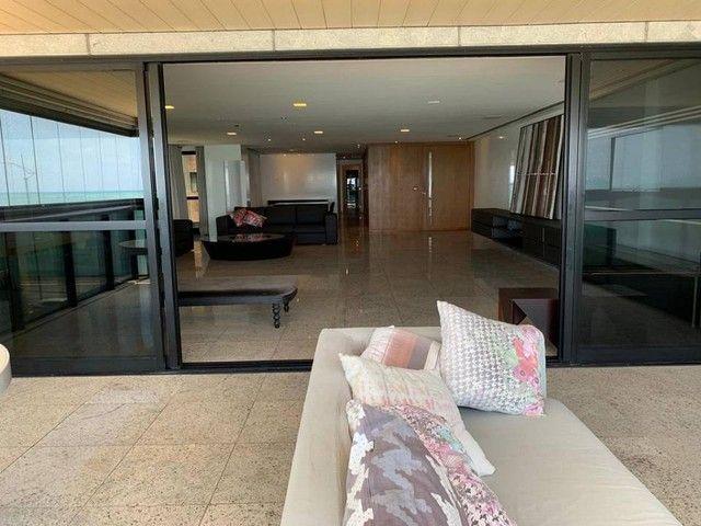Apartamento para venda possui 349m² com 4 suítes na Orla da Ponta Verde - Maceió - AL - Foto 8