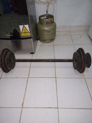 Peso/Musculação/Caseiro - Foto 2