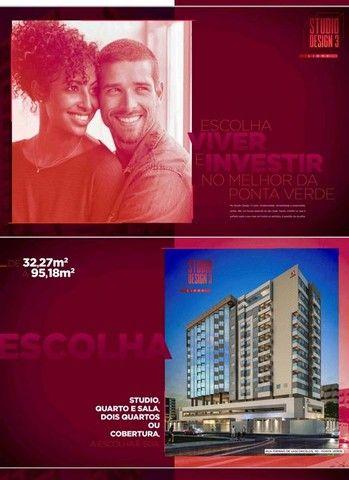 Venda - Apartamento a 2 quadras da praia de Ponta Verde - Maceió - Alagoas - Foto 2
