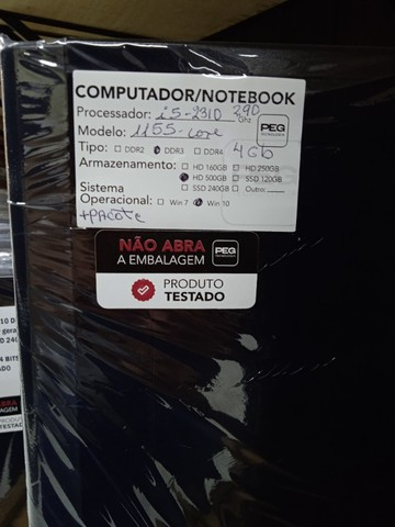 Pc Core i5 2310 4GB Ram 500Gb Hd! Loja Fisica Curitiba!  - Foto 4