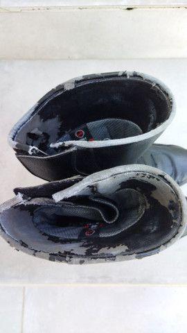Bota de chuva Texx impermeável de motoqueiro. Ler anúncio - Foto 4