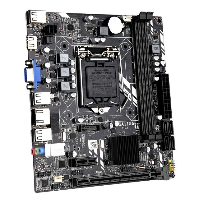Placa Mãe Lga 1155 DDR3 1333Mhz - Intel! Loja Fisica Curitiba! - Foto 2