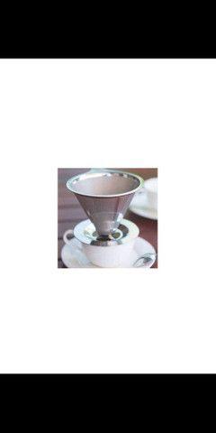 Filtro para Café Reutilizável em Inox - Foto 2