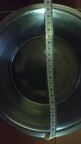 Bebedouro e comedouro duplo em inox tamanho G - Foto 6