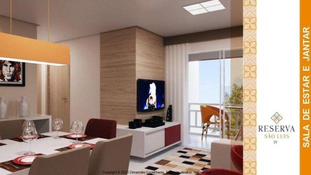no reserva são luís- apto de 2 quartos, 55m²// elevador - Foto 2