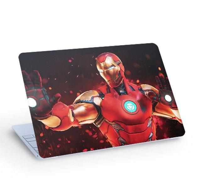 Skin Adesivo para Notebook - Homem de Ferro
