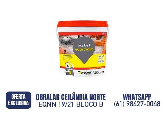 R$ 34,90 Tec Plus 1 3,6 litros Quartzolit