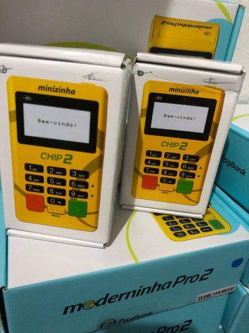 Maquineta maquininha de cartão com configuração e entrega imediata grátis  - Foto 4