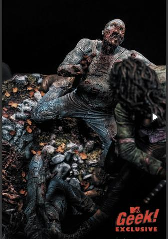 Vendo action figure Diorama Michonne The Walking Dead