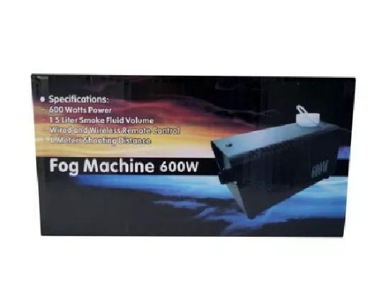 Maquina De Fumaça 600w 110v Com Strobo Rgb Controle Com Fio - Foto 5