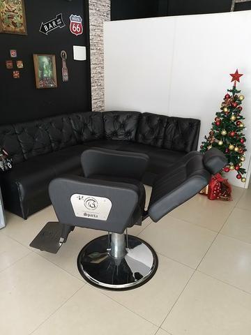 Cadeira de barbeiro - Foto 3