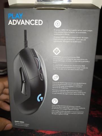 Mouse gamer logitech G403 HERO - Foto 4