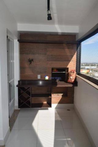 Apartamento com 2 dormitórios à venda, 69 m² por r$ 350.000 - jardim goiás - goiânia/go - Foto 4