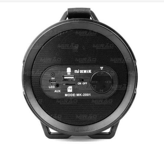 Caixa De Som Portatil Bluetooth Mp3 Fm Pc Micro - Mk2001 - Foto 3