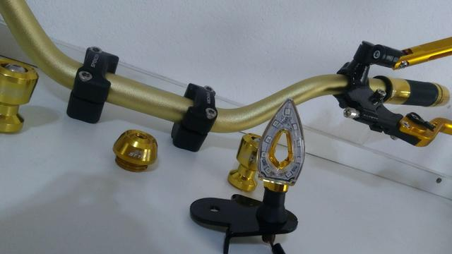 Kit Gold Special, Black, Red, Blue honda Del rey , Prata niquelado - Foto 9
