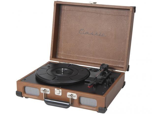 Vitrola Toca Discos Portátil Tennessee - Novo na caixa - Foto 2