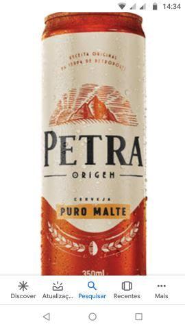 Vendo cerveja Petra no precinho