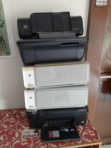 Impressoras faltando cartuchos